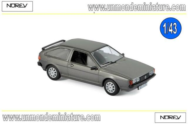 Volkswagen Scirocco GT 1981 Anthracite Grey metallic  NOREV - NO 840095 - 1/43