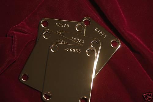 Neck Plate 20036 number Clapton's Blackie Neckplate w//