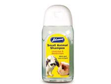 Johnsons Small Animal Shampoo deodorises 125 ml Rabbit Guinea Pig Rat Ferret