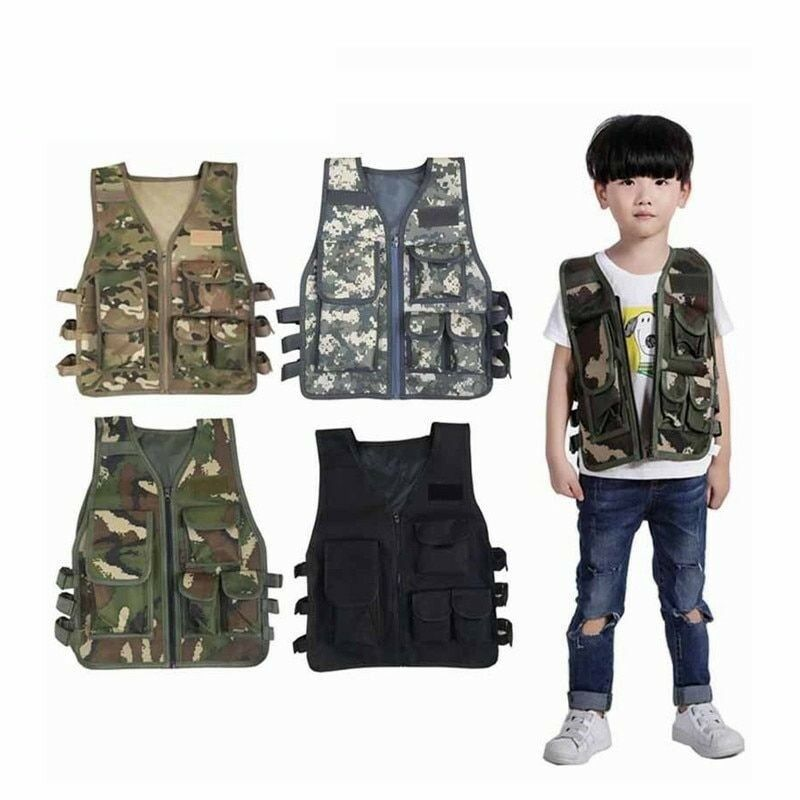 Hunting Tactical Vest Cs Plate Carrier Military Training Combat Airsoft Nylons