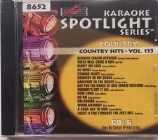 Sound Choice Karaoke Spotlight Series Country Hits- Vol.133 8652