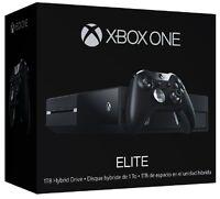 Microsoft Xbox One Elite Console Controller Bundle 1tb Hybrid Ssd Hd Black
