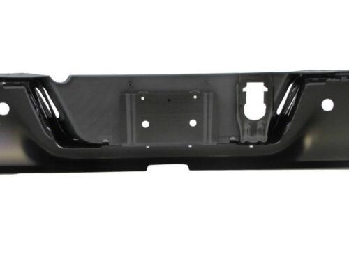 For 09-17 Ram Pickup Rear Step Bumper Black Assy W//Sensor W//O Dual Exhaust