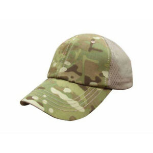 637757644bb Condor Tctm-008 Multicam Mesh Tactical Team Baseball Cap Hat 2 Velcro Panels