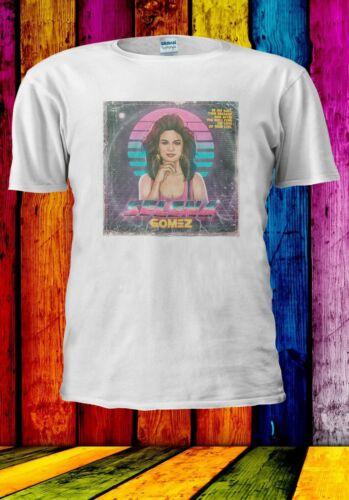 Retro 80s Album Selena Gomez Be My Date Then Break Men Women Unisex T-shirt 2852