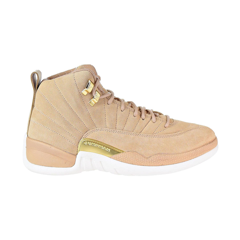 Air Jordan 12 Retro Women's shoes Vachetta Vachetta Vachetta Tan Sail Metallic gold AO6068-203 db7b5a