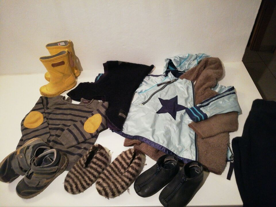 Blandet tøj, Tøj pakke efterår og vinter, Ver de terre