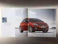 Fiat Bravo Brochure ('07 - Type 198) - FREE P&P