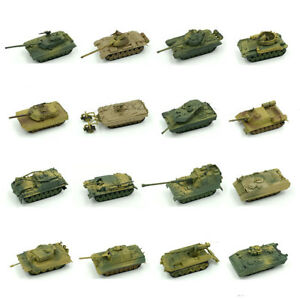 15-Style-1-72-WWI-WWII-Tank-Model-Kit-Military-World-War-UK-USA-Germany-Toy-3D