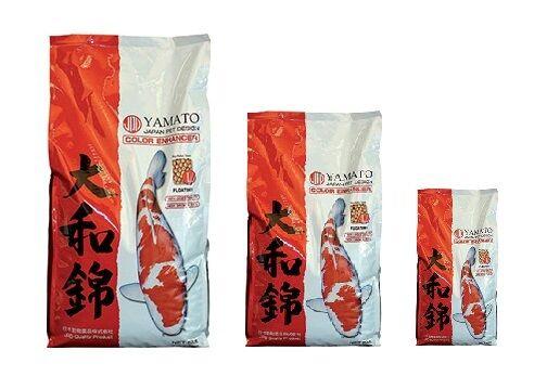 Yamato Colour Enhancing Koi Food - Pond Food - Fish Food