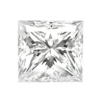 1.53 Ct F Vs2 Princess Cut Loose Diamond Gal Graded