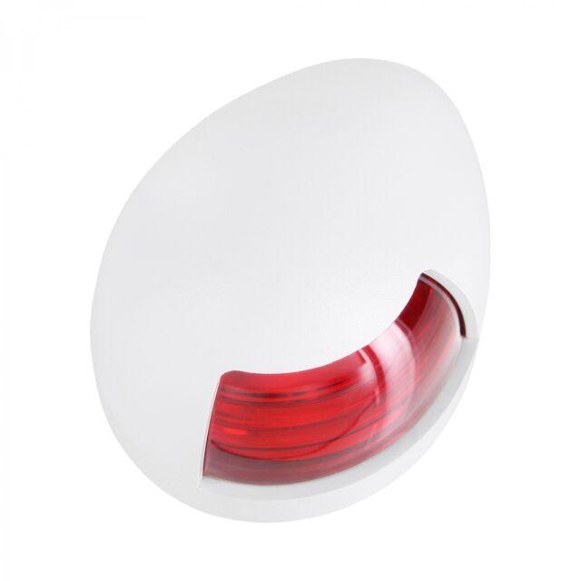 Edelstahl Navigationslicht Topplicht Buglicht Positionslicht Leuchte Rot /& Grün