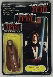 Star Wars ROTJ Obi-Wan Kenobi Tri Logo 1983 action figure
