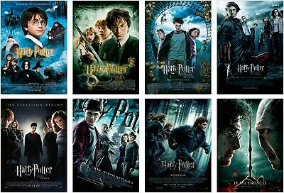 Harry Potter Classic Movie Large Poster Art Print Maxi A1 A2 A3 A4