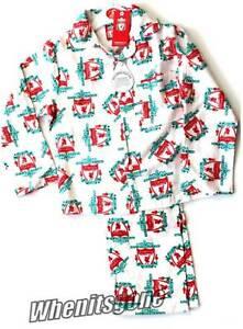 Liverpool Boys Football Club Pyjama Set Pjs Age 5//6  9//10