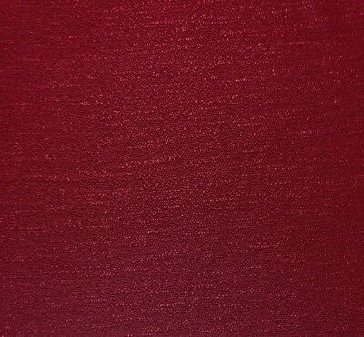 """COVINGTON SUTTON SQUARE BERRY RED SOLID WOVEN SOLID FABRIC BY THE YARD 54""""W"""
