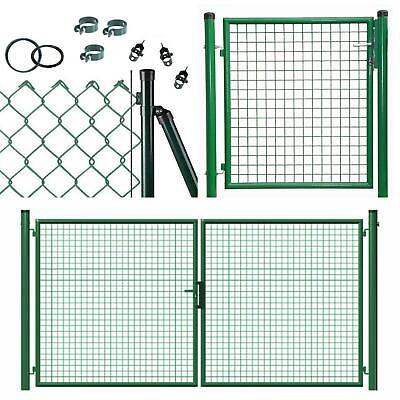 25m Maschendrahtzaun grün 60x2,8x1750 Viereckgeflecht Maschinengeflecht  Zaun