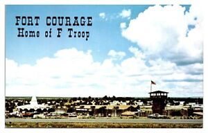 Fort-Courage-Indian-Store-Houck-AZ-Postcard-5N-2-20