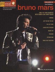 Analytique Bruno Mars Pro Vocal Volume 58 Sheet Music Book With Audio Accès Uptown Funk-afficher Le Titre D'origine ImperméAble à L'Eau, RéSistant Aux Chocs Et AntimagnéTique