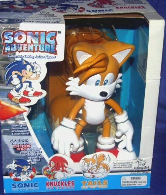 Talking Tails Sonic Adventure Action Figure Toy Island 2000 Mib Misp For Sale Online Ebay
