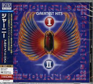 JOURNEY-ULTIMATE-BEST-GREATEST-HITS-I-amp-II-JAPAN-Blu-spec-CD2-G50