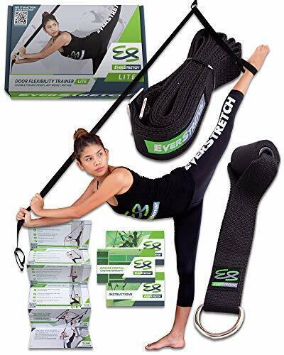 Easy To Use /& Portable Door FlexibilityTrainer Lite Leg Stretcher