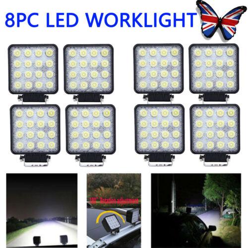 48W LED Cree Work Light Lamp Flood Beam 12V 24V Offroad Car Truck ATV Tractor