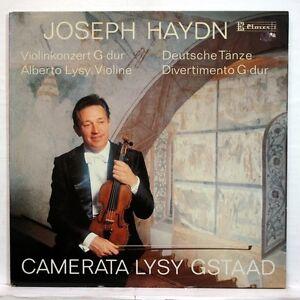 ALBERTO LYSY - HAYDN violin concerto, german dance, divertimento