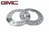 2 Pc Gmc Sierra 3500 Dually 8x200 Mm 8 Lug Billet T6 Wheel Spacers 1/2 Thick