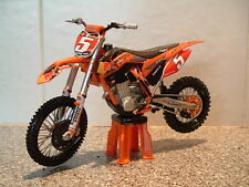 TOY MOTOCROSS BIKE MODEL 1:12 RYAN DUNGEY RED BULL KTM #5 SXF 450 2012 GIFT