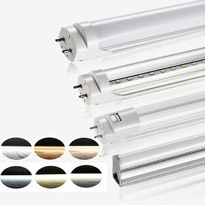 t5 t8 led tube r hre leuchtstoffr hre lampe licht rohr 60cm 90cm 120cm 150cm ebay. Black Bedroom Furniture Sets. Home Design Ideas