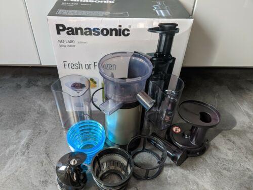 Panasonic MJ-L500SXE Slow Juicer Entsafter  Sz09x