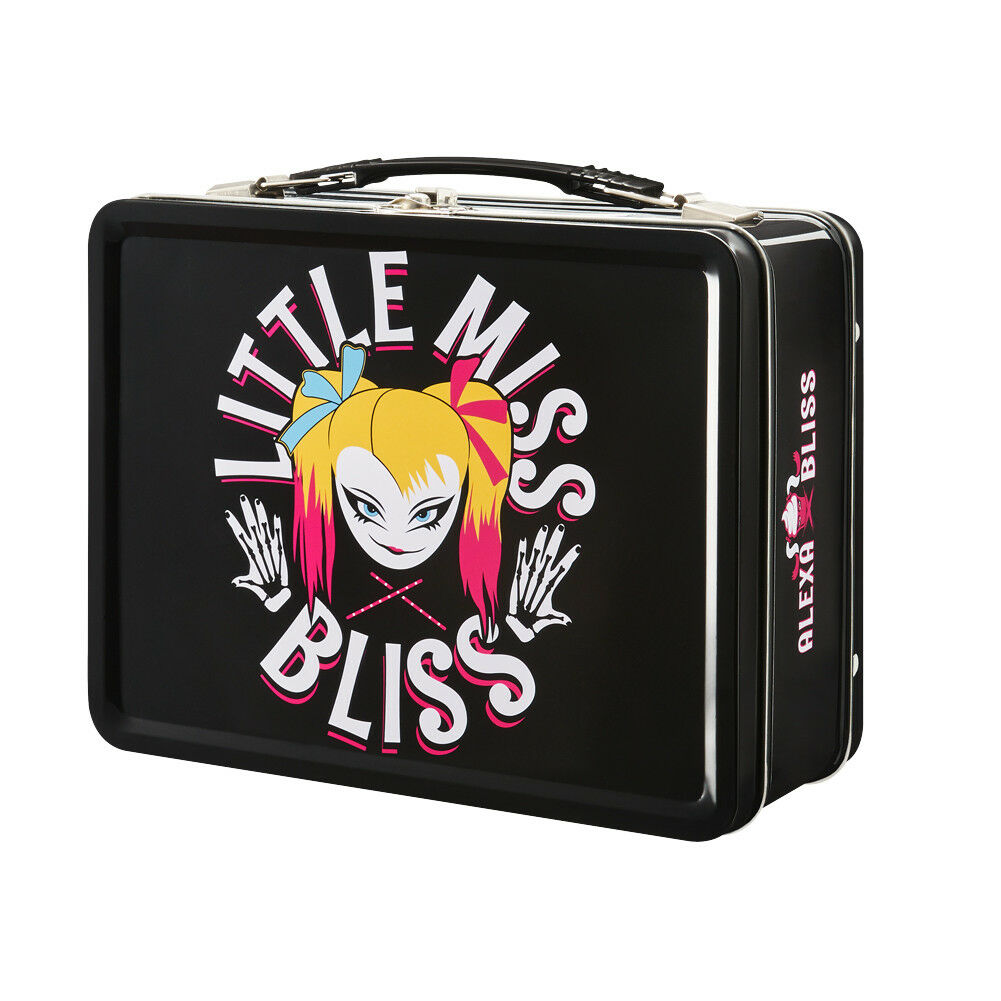 Little Miss Alexa Bliss Wwe black Caja de Almuerzo