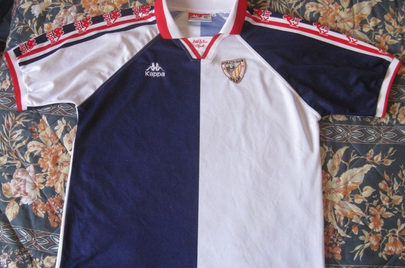 Camiseta Shirt  Maglia Maillot Trikot Athletic Bilbao Kappa Season 1997 Vintage  el mejor servicio post-venta