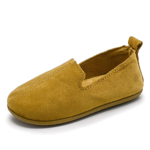 Baby Kids Boys Girls Shoea Toddler Child Flat Round Toe Casual Loafer Boat Shoes