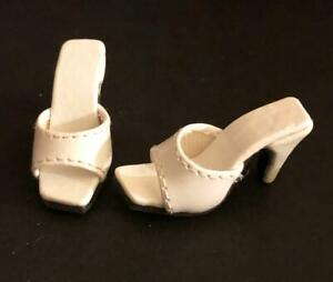 Shoes-Sandals-for-16-034-Tyler-Gene-Tonner-Dolls-Slip-on-Kingstate-Ivory-Cream-New