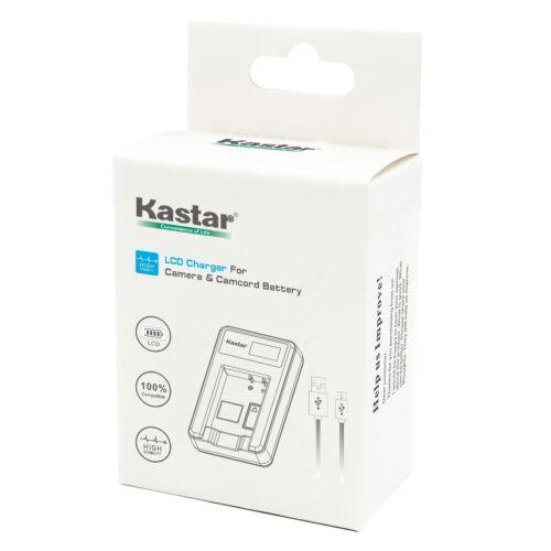 Kastar Batería Cargador USB LCD Para Sony NP-BX1 /& Sony Cyber-shot DSC-HX60 Cámara