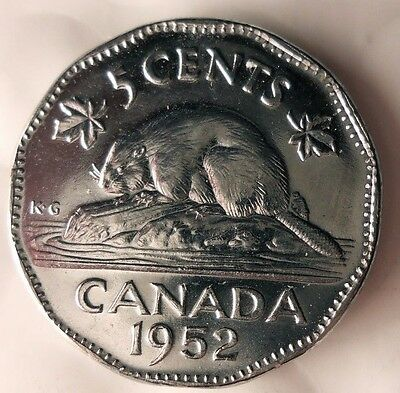 1945 CANADA 5 CENTS Canada Nickel Bin FREE SHIP Chromium WW2 Victory Coin