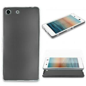 Sony-Xperia-m5-360-degres-protection-tous-azimuts-metal-aspect-TPU-Housse-Cover-Case-Coque