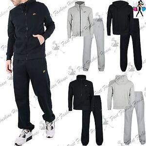7f7e5470 Nike мужская фирменная jogsuit толстовка с капюшоном флис низ ...