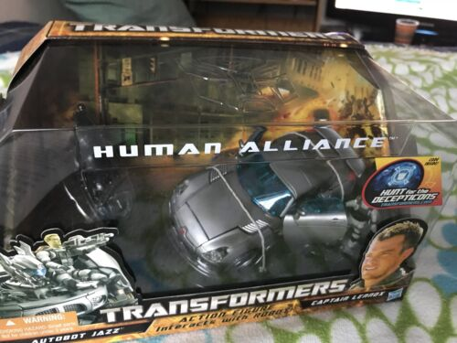 Transformers HFTD Human Alliance Jazz MISB Mint 100/% Complete 2010