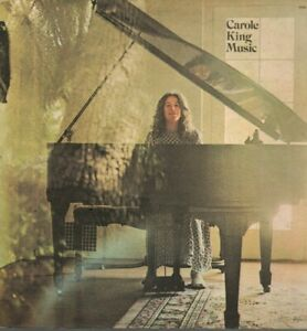 Carole-King-Vinyl-LP-Ode-Records-1972-SP-77013-Music-VG