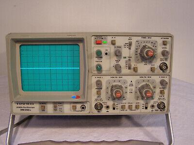 Hantek 6022BE PC-Based USB Digital Storag Oscilloscope 48MSa//s 20 MHz 2 canaux
