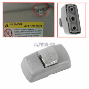 Image Is Loading New 3b0857561b Grey Sun Visor Clip For Skoda