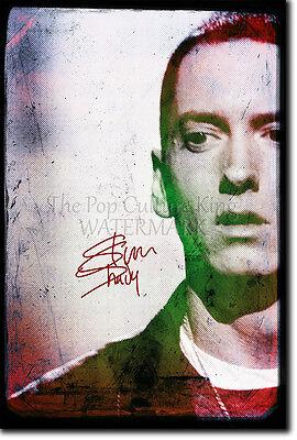 EMINEM PHOTO PRINT - SLIM SHADY POSTER GIFT