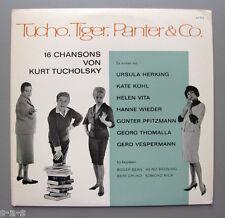 Hanne Wieder, Kühl, Vita u.a. - Tucho, Tiger, Panter & Co. Tucholsky Chansons Lp