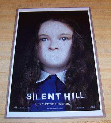 Silent Hill 11x17 Movie Poster Alessa Gillespie Ebay