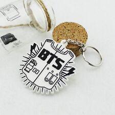 Bangtan Boys BTS Logo Keychain Key ring Kpop JUNGKOOK JIN New Gifts
