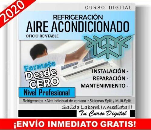español Curso Aire Acondicionado Refrigeracion Instalacion Y Repararcion.