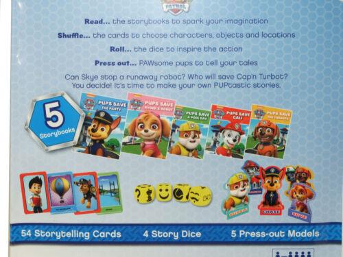Paw Patrol 5 Books Cards Etc In A Nice Tin  Nickelodeon